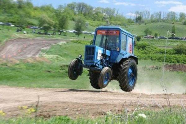 Как сделать чтобы трактор быстро ездил