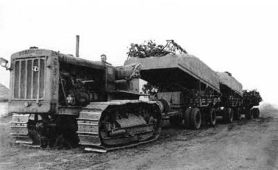 "Тракторы №129 - С-60 ""Сталинец"""