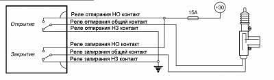 Буз-07 схема подключения