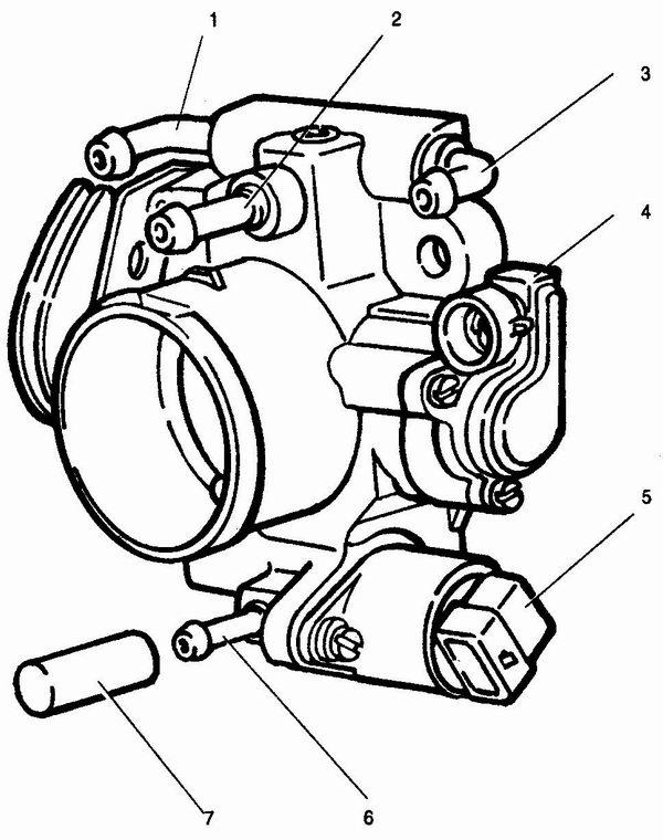 2 - патрубок системы