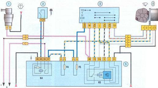электродвигателя дворников
