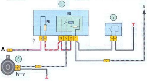 Схема крана отопителя ваз 2107.  Пошаговая схема замены датчика холла на ваз 2106.