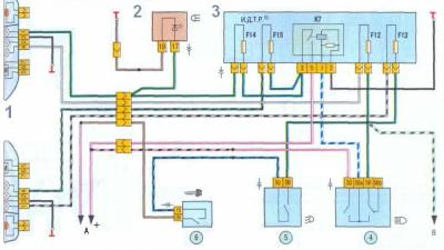 принципиальная схема лада калина