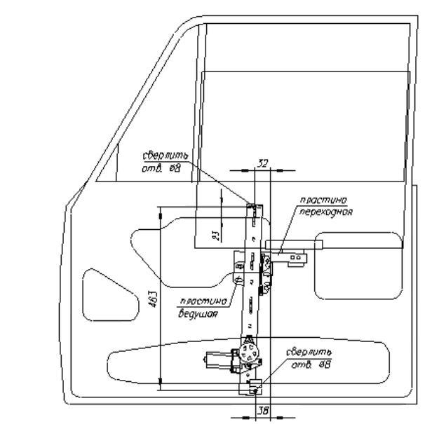 Как установить стеклоподъемники на ваз 2106